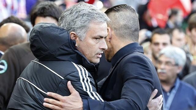 Champions League - Mourinho aiming to knock Atletico off their 'cloud'