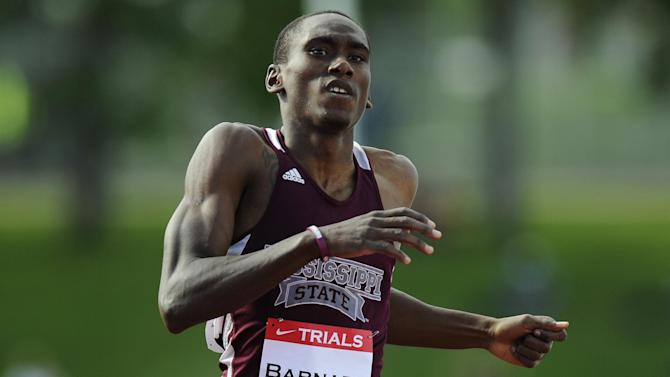 Athletics - Canadian Olympic 400m runner Barnaby drowns