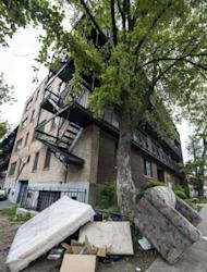 A mattress and sofa reportedly taken out of the apartment of Luka Rocco Magnotta lie just outside an apartment building in Montreal in May 2012. A macabre profile of a Canadian porn actor suspected of filming the dismemberment of a Chinese student and mailing his body parts emerged from his acquaintances and hundreds of websites