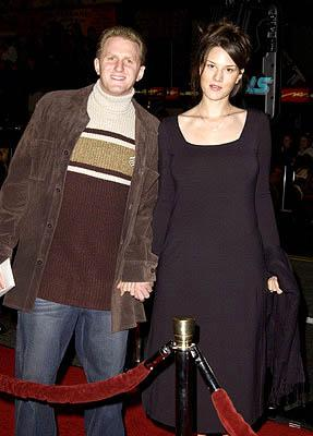 Michael Rapaport with wife Nicole at the Hollywood premiere of Ali