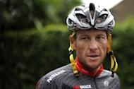 "Lance Armstrong pictured on July 21, 2010, during a rest day at the Tour de France. Armstrong, 41, has admitted to widespread doping and has been stripped of his Tour medals. Seeking ""tens of millions"" paid to Armstrong for ""years of broken promises"", the US government has joined a lawsuit alleging the doping cyclist defrauded former sponsor US Postal Service"