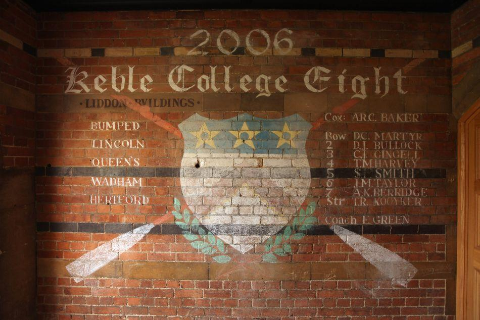 2006 Keble College Eight rowing squad