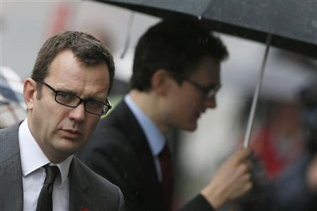 Former News of the World editor Andy Coulson arrives at the Old Bailey courthouse in London November 5, 2013. REUTERS/Stefan Wermuth
