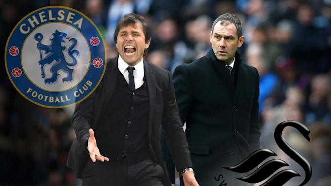 Chelsea vs Swansea live: Latest score, goal updates and Premier League team news at Stamford Bridge