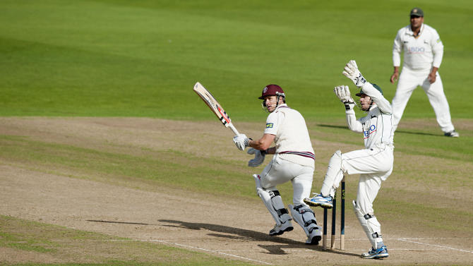 Cricket - LV= County Championship - Division One - Nottinghamshire v Somerset - Day Three - Trent Bridge