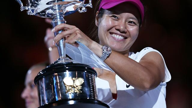 Australian Open - Li beats Cibulkova to claim second Grand Slam