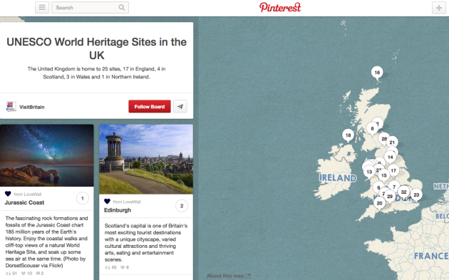 Pinterest And Travel: A Match Made In Social Media Heaven image Screen Shot 2013 11 22 at 7.36.47 PM