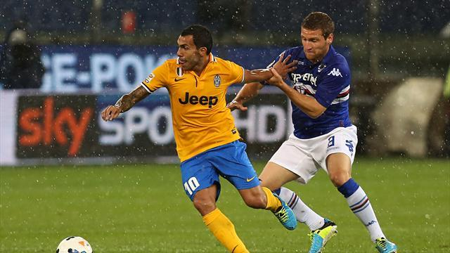 Serie A - Chiellini: Tevez works like a mule