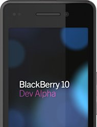 RIM presented developers at its BlackBerry World conference with a BlackBerry 10 Dev Alpha device