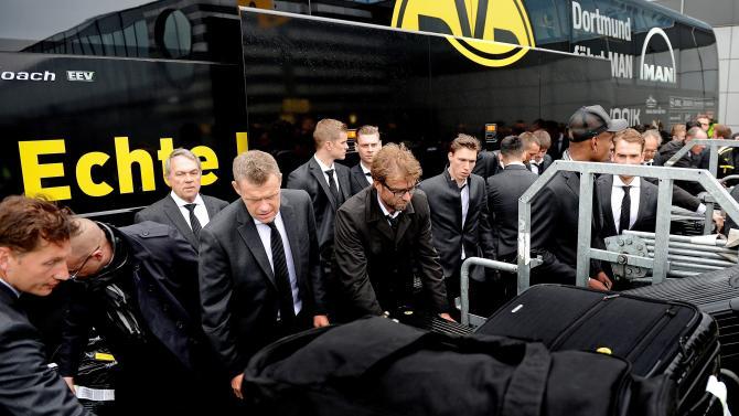 Borussia Dortmund Arrives In Dortmund After The UEFA Champions League Final