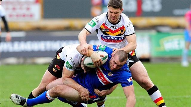 Rugby League - Poore warned over tackling technique