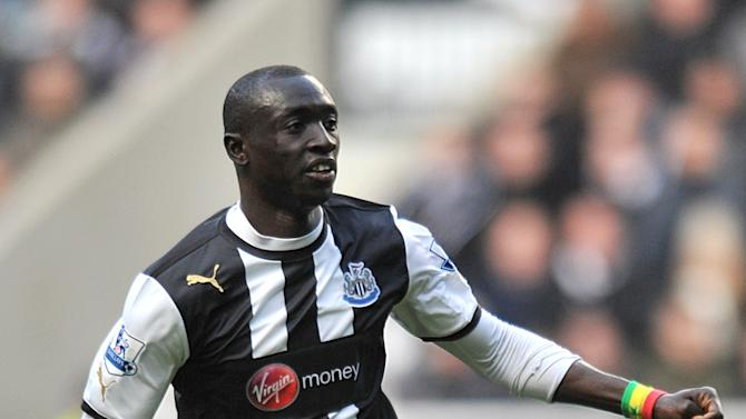 Striker Papiss Cisse is happy with life at Newcastle United