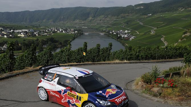 FIA World Rally Championship Germany - Day1