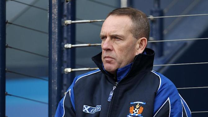 Kenny Shiels was sent to the stands during his side's 2-1 defeat to St Johnstone