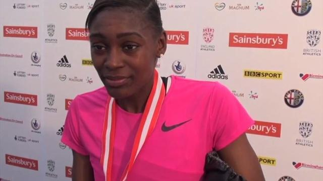 Athletics - Shakes-Drayton breaks British Championships record