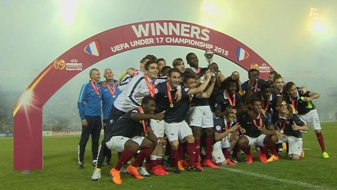 UEFA European Under-17 Championship - France beat Germany to win U17 European Championships