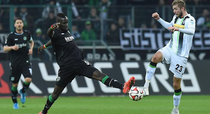 Video: Borussia M gladbach vs Hannover 96
