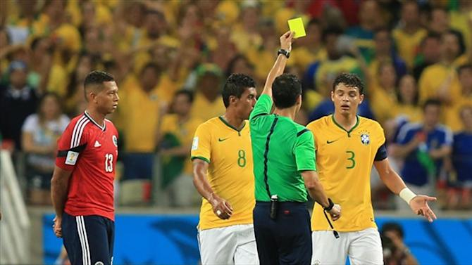World Cup - FIFA reject Brazil's Thiago Silva appeal