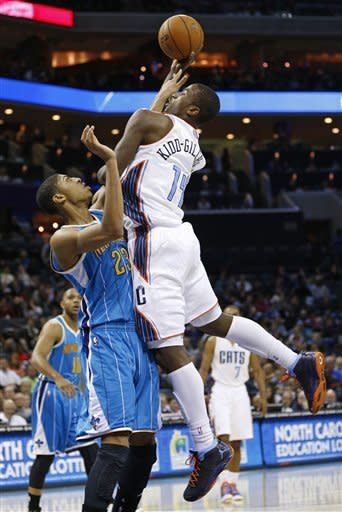 Hornets extend Bobcats' skid to 18 games