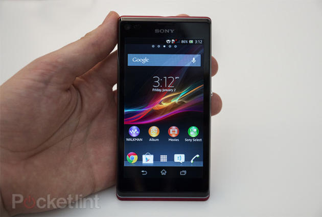 Sony Xperia L pictures and hands-on. Sony, Phones, Sony Xperia, Sony Xperia L 0