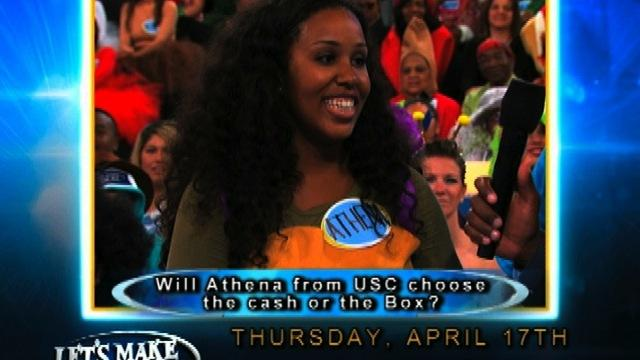 Let's Make a Deal - Athena from USC