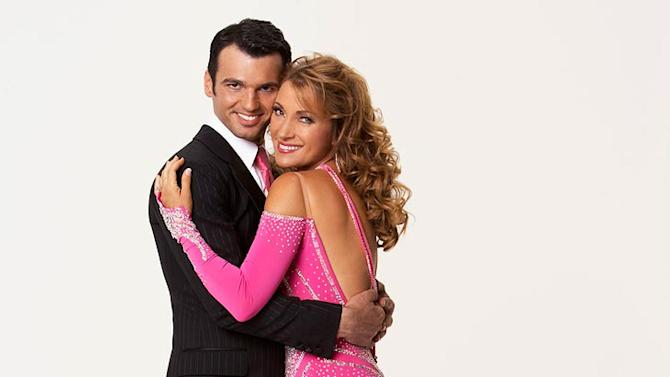 Actress/artist/author/activist/designer and Emmy and Golden Globe Award-winning British born Jane Seymour teams up with professional dancer Tony Dovolani for the Season 5 of Dancing with the Stars.