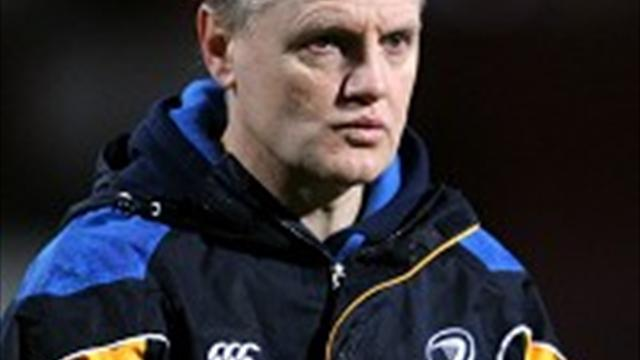 Rugby - Schmidt frustrated with Leinster defeat