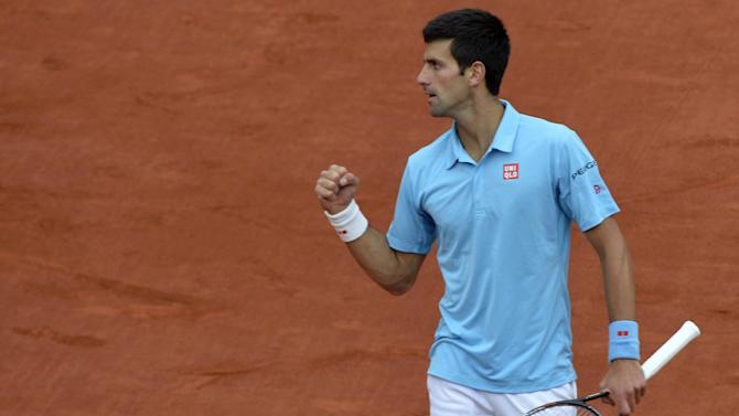 French Open - Djokovic wary of Raonic threat in Roland Garros quarter-finals