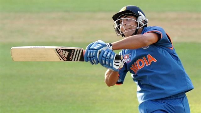 Cricket - India earn tie in New Zealand to keep series alive