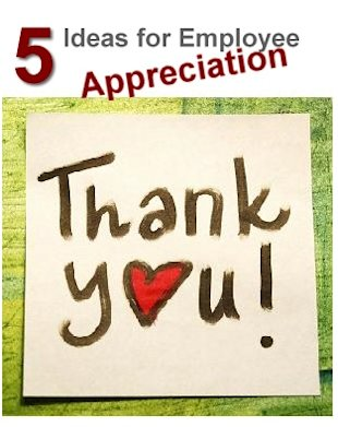 Showing the Love 5 Ideas for Employee Appreciation image 5 Ideas for Employee Appreciation1