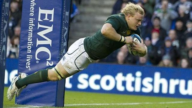 Rugby Championship - South Africa thump Australia in bad-tempered Test