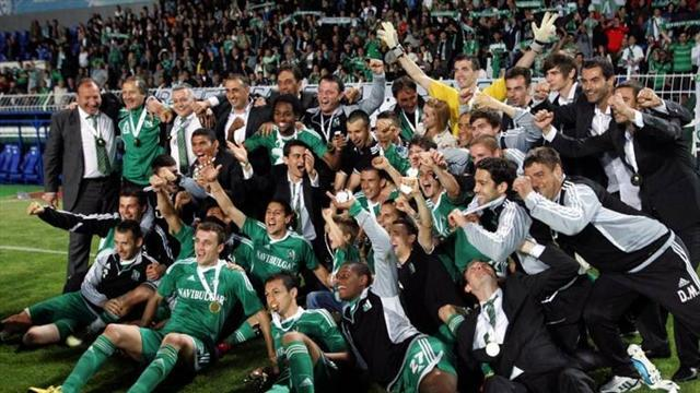 European Football - Ludogorets clinch Bulgarian title after Levski own goal