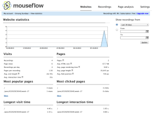 Mouseflow Review – Track Your Visitors' Behaviors image Screen Shot 2013 10 11 at 1.30.40 AM