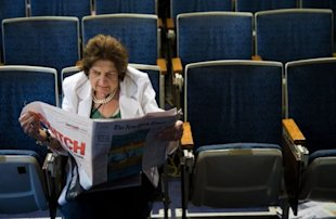 Getty Images: Helen Thomas retires after making controversial comments about Israel.