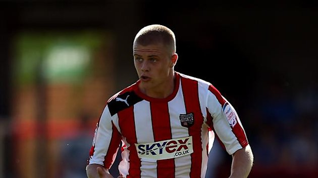 Jake Bidwell was sent off in Brentford's draw against Leyton Orient