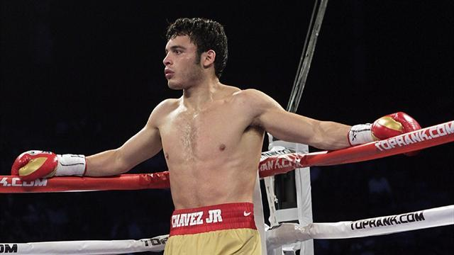 Boxing - Chavez Jr suspended and fined over drug test