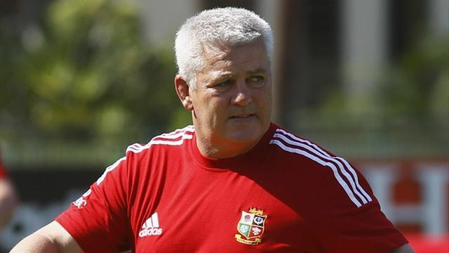 Lions Tour  - Gatland: Composed Lions laid down marker