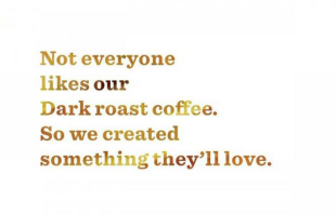 Customizing Your Marketing Message   Case Study: Starbucks Blonde Roast image Starbucks blonde roast US