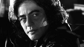 Benicio Del Toro as Jackie-Boy in Dimension Films' Sin City