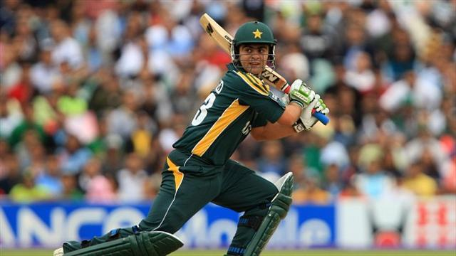Cricket - Shehzad hits century as Pakistan crush Bangladesh