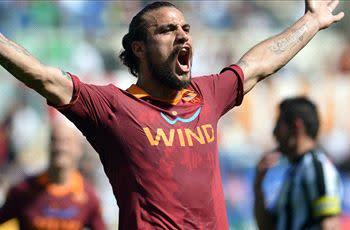 Atletico Madrid in talks with Roma's Osvaldo