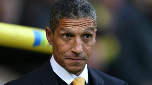 Premier League - Hughton focused on survival