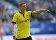 Defending champions Borussia Dortmund will wait until their final training session before deciding if Poland defender Lukasz Piszczek, pictured on August 4, is fit to play in Friday's Bundesliga season opener
