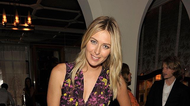 Sharapova Maria CFDA Event