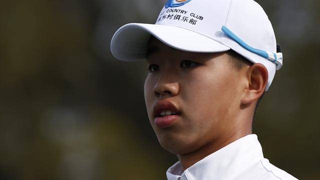 The Masters - Guan ready for Masters at record-setting age of 14