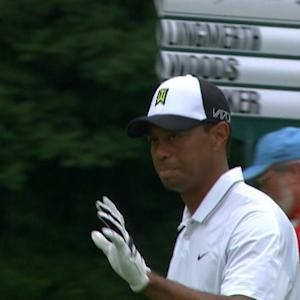 Tiger Woods' dialed in approach for Shot of the Day