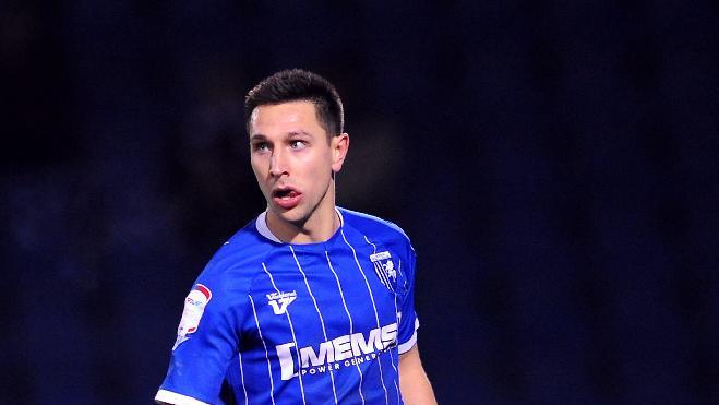 Joe Martin netted in Gillingham's triumph