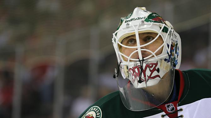 NHL: Minnesota Wild at New Jersey Devils