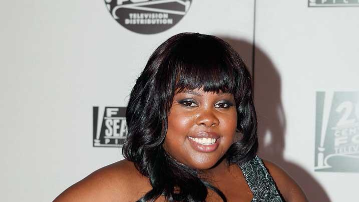 Amber Riley Gldn Glb Awards