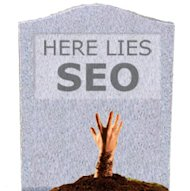SEO is Dead/Alive image hereliesseo